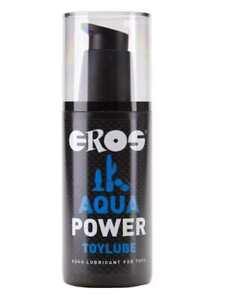Eros Aqua Power Toylube 125ml Gleitgel Gleitmittel Wasserbasis Parfumfrei GAY