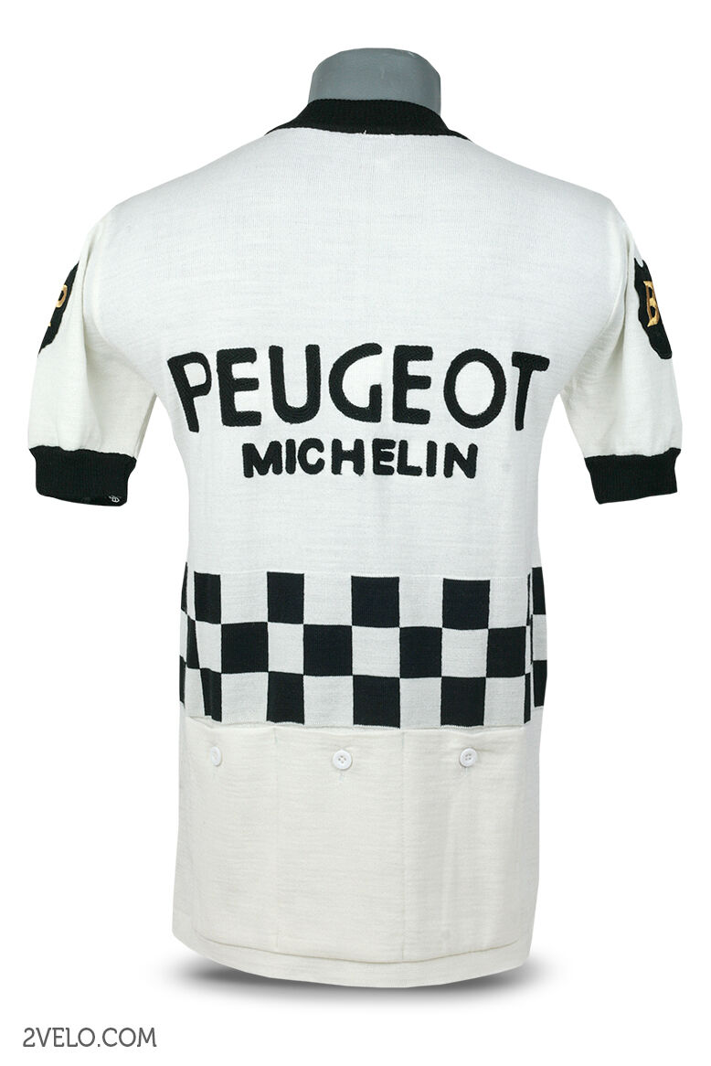 PEUGEOT BP vintage style wool jersey, new, new, jersey, maglia, maillot XXL 082558