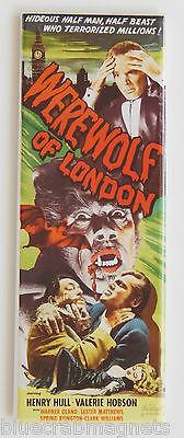 Werewolf of London FRIDGE MAGNET (1.5 x 4.5 inches) insert movie poster wolf man
