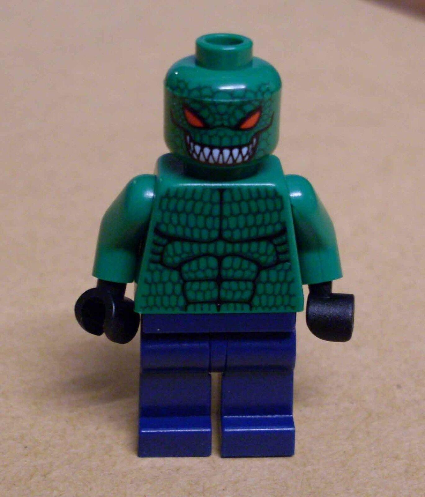 Lego Batman - Killer Croc Figur Figures Crocodile Killercroc Krok Krokodil Neu