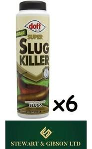 6 x Doff Super Limace Killer 350 G jardinage biologique Sécurité Pluie Rapide Envoi Gratuit  </span>