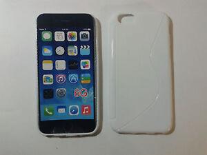 Cover Custodia Sline Silicone TPU per Apple iPhone 6/6S Plus in 8