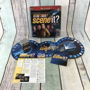 Star-Trek-Scene-It-Deluxe-Game-In-Metal-Tin-Contents-SEALED-And-UNUSED