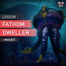 WOW Legione profondità abitanti subacqueo MONTALA animale Mount MEDUSA