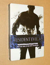 Resident evil 6 new & sealed Pre-order Box / Steelbook ( G1 xbox 360 )