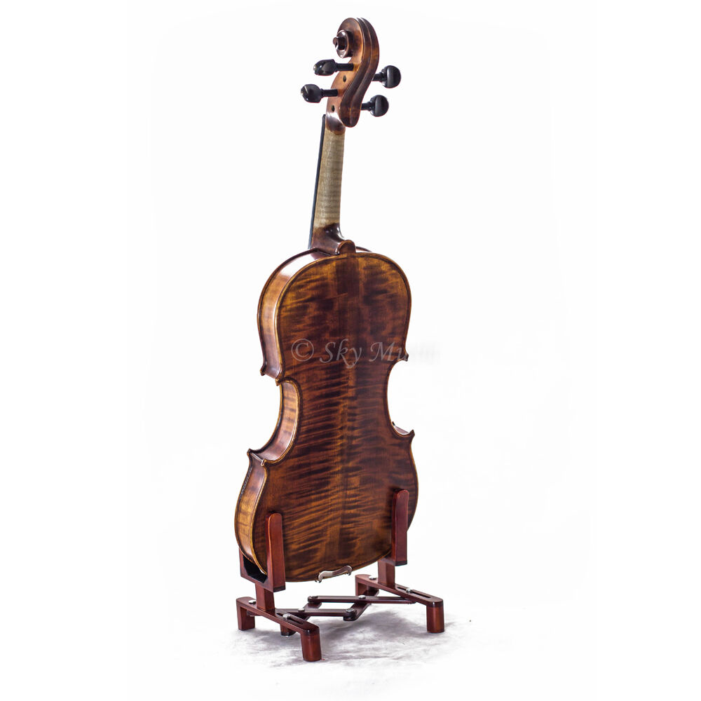 New High Quality 15.5  Größe lila Solid Wood with Upgraded Case