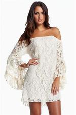 Cocktail Kleid Weiss Große Größen Plus Size Abendkleid Elegant Gr. 44 Festlich