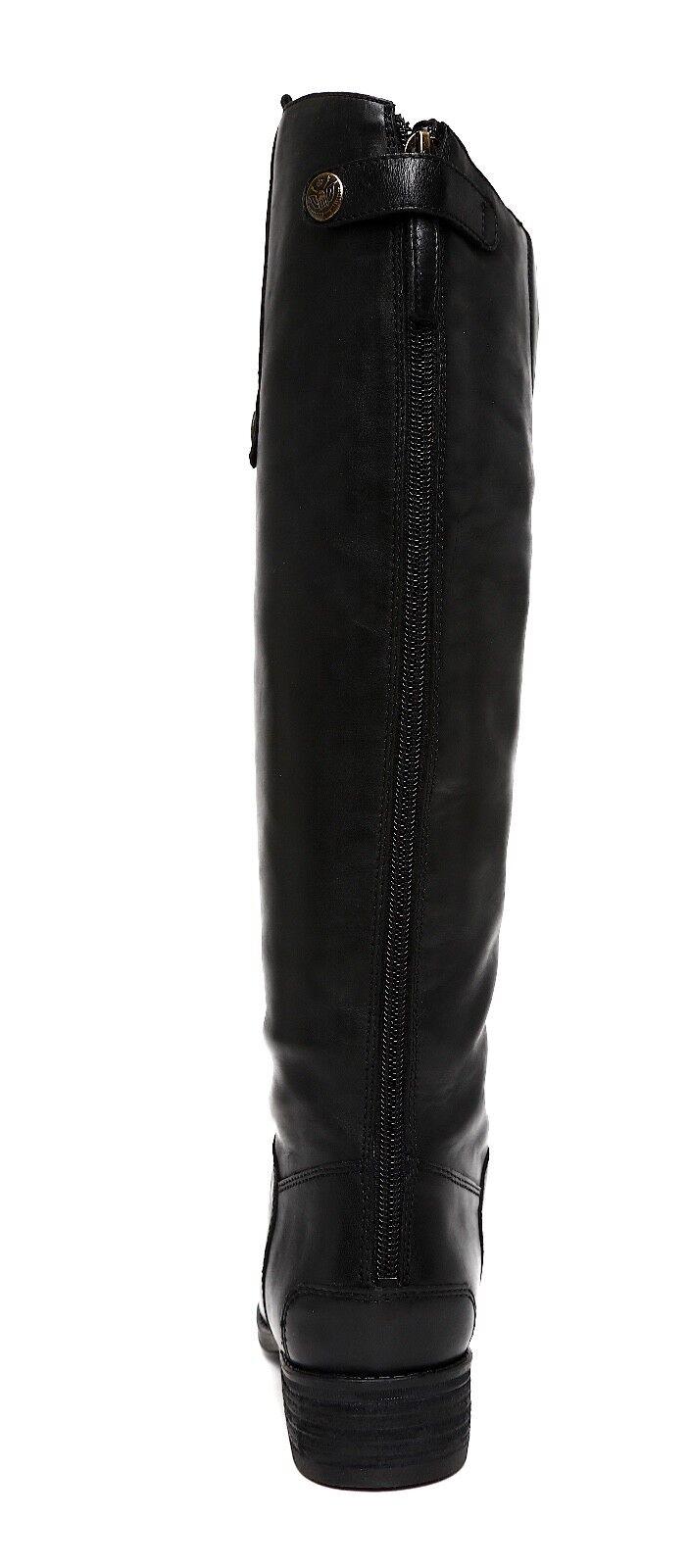 Sam Edelman Penny Penny Penny Width Leather Boot Black Women Sz 8 M 5831   bd2522