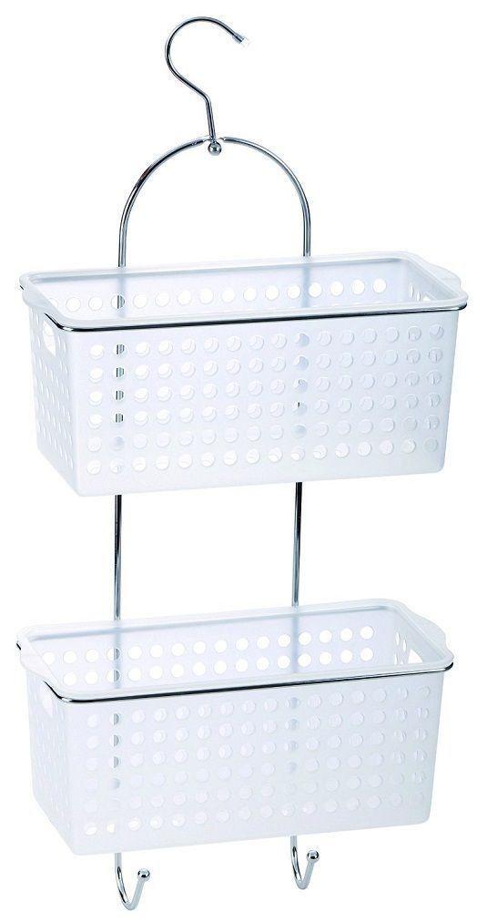 2 TIer Plastic Basket Caddy