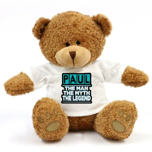 Paul The Man The Myth The Legend Teddy Bear