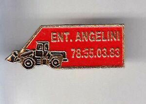 RARE-PINS-PIN-039-S-AGRICULTURE-BTP-TRACTEUR-TRACTOR-TRACTOPELLE-ANGELINI-BF
