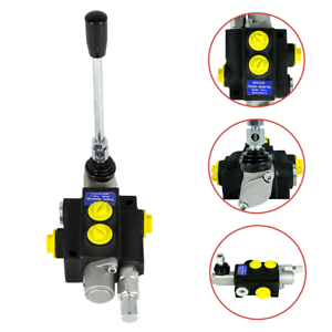 1-Spool-Hydraulic-Directional-Control-Valve-Manual-Operate-13GPM-3600PSI