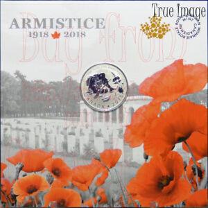 Centennial of Armistice 1//2 OZ $10 Pure Silver Coin Canada 1918-2018