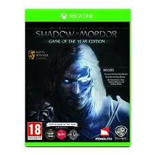 Middle-Earth Shadow of Mordor Game Of The Year (GOTY) Xbox One Game - Brand new!