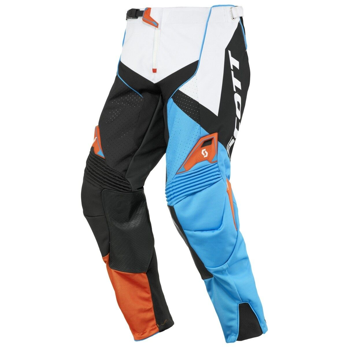 Scott 450 Podium MX Motocross / DH Fahrrad Hose blau/schwarz/weiß 2016