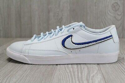 45 Nike Blazer Low 3D Light Bone White Game Royal Blue Shoes Sz 10.5 AV6964 001 | eBay