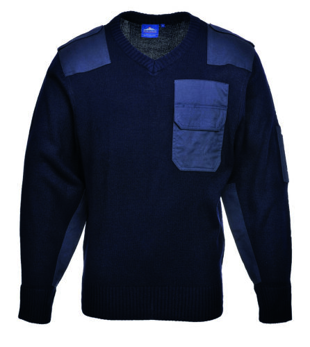 Pullover Troyer Sweater Military Strickpullover Tactical Navy Bundeswehr