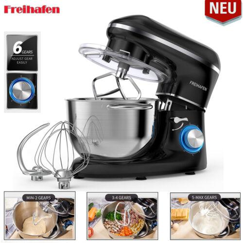 1400W Küchenmaschine 5,5 L Knetmaschine Teigmaschine Rührschüssel Rührmaschine