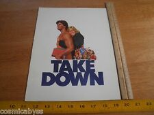 Take Down 1979 movie program Premiere folder Edward Herrmann Maureen McCormick