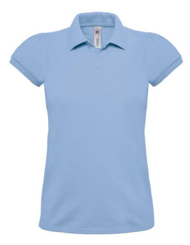 B/&C Damen Kurzarm Polo T-Shirt verschiedene Farben und Größen S XXL