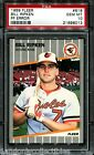 1989 Fleer F@&K RICK FACE FF ERROR #616 Billy Bill Ripken RC! PSA 10 GEM MINT