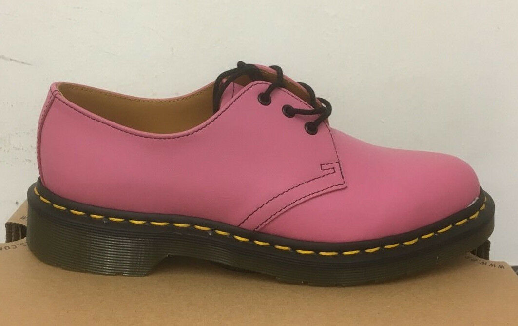 DR. MARTENS 1461  CANDY PINK  1461 SOFTY T   LEATHER  Schuhe SIZE UK 9 91da3a