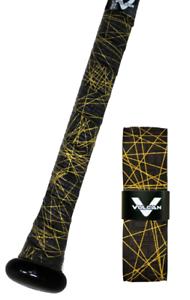 VULCAN-ADVANCED-POLYMER-BAT-GRIPS-STANDARD-1-75-MM-GOLD-LAZER