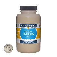 Iron Oxide Yellow 8 Ounce Bottle 99 Pure Reagent Grade 44 Micron Powder