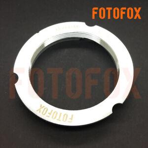 NEW-6-Bit-Code-Leica-M39-LTM-lens-to-M-Mount-L-M-Adapter-50-75-mm-M8-M9-M-240