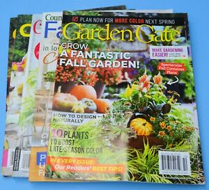 5 Magazines Cottage Journal, Country Cottage, Farmhouse, Garden Gate 2021 issues