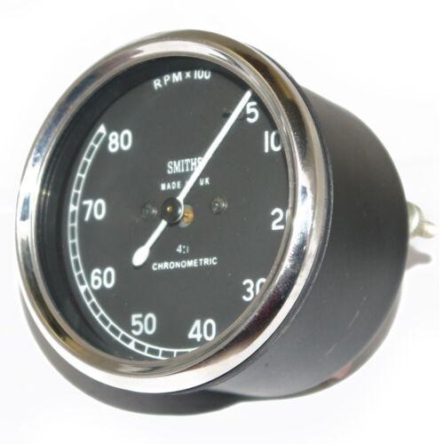 Replica Smiths Tacho Meter 5 - 8000 Rpm Tachometer Universal For Bikes GEc