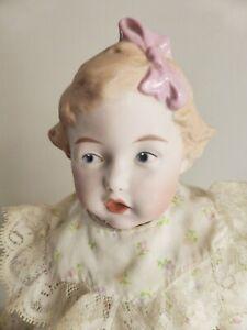 Heubach Koppelsdorf Bisque Doll, Antique Reproduction, German, Gorgeous