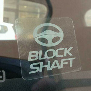 Adesivi-Sticker-Auto-Moto-antifurto-BLOCK-SHAFT-Tuning-camion-camper-gps-tracker