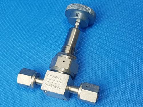Swagelok Nupro ss-bnv51 acero inoxidable válvula IVA incl
