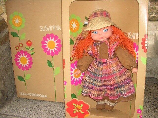 Bambola SUSANNA Italocremona - vintage