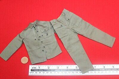 ALERT LINE MODLES 1:6TH SCALE WW2 USMC T-SHIRT AL100021 GREEN