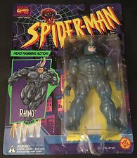 RHINO 5 inch action figure SPIDER-MAN ANIMATED CARTOON 1994 Marvel Universe NEW
