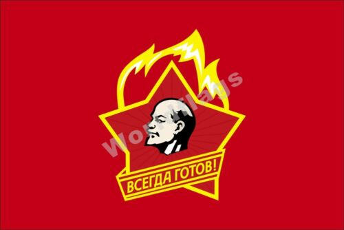 Communism Flag 3X5FT Marx Engels Lenin Stalin CCCP USSR Soviet Communist Party