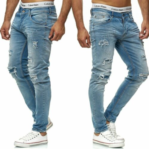 Herren Jeans Hose  Slim Fit SKINNY   2622  BLAU