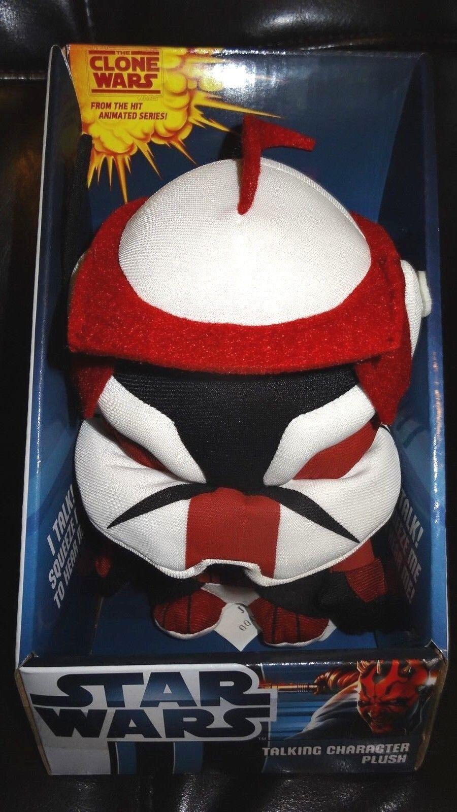 Stern Wars Talking Character Plush Commander Fox,klonen wars animated serie 2012