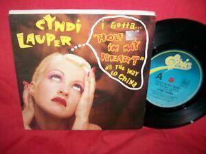 CYNDI-LAUPER-Hole-in-my-heart-Boy-blue-Live-1988-AUSTRALIA-7-034-45rpm-EX