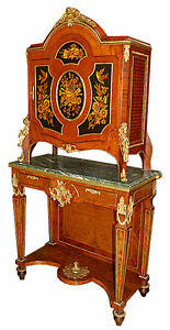 Two-Tier-Inlaid-Victorian-Cabinet-with-Green-Marble-Top-amp-Bronze-Trim-5894