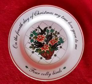 12 Days of Christmas Salad Dish Replacement 4 Colly Birds ...