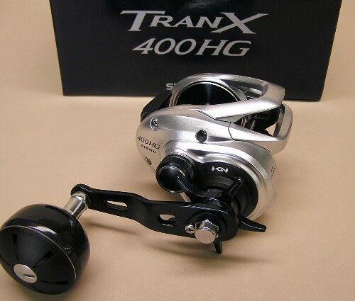 Shimano TranX 400 Hg bajo perfil Baitcasting Reel 7.6  1 Modelo TRX-400AHG