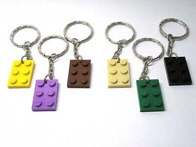 3021 Plate 2x3 LEGO® Brick Keychain KEYRING