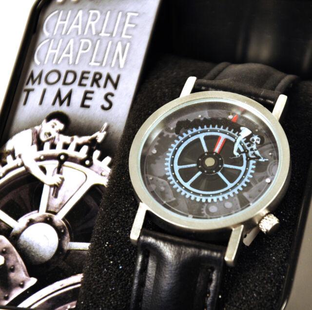 Charlie Chaplin Uhr - modern Times Armbanduhr günstig ...