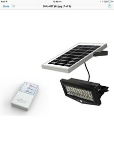 Solar security light with remote control ebay image is loading solar security light with remote control mozeypictures Choice Image