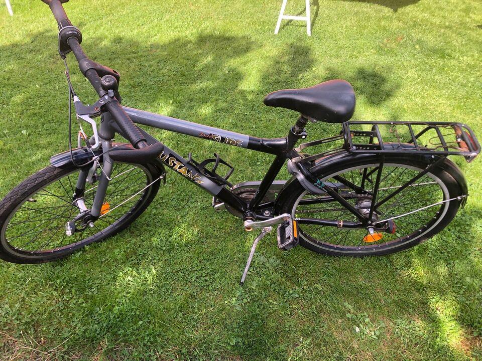 Drengecykel, classic cykel, Mustang