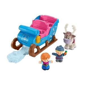Little-People-GGV30-Fisher-Price-Disney-Frozen-Kristoff-039-s-Sleigh
