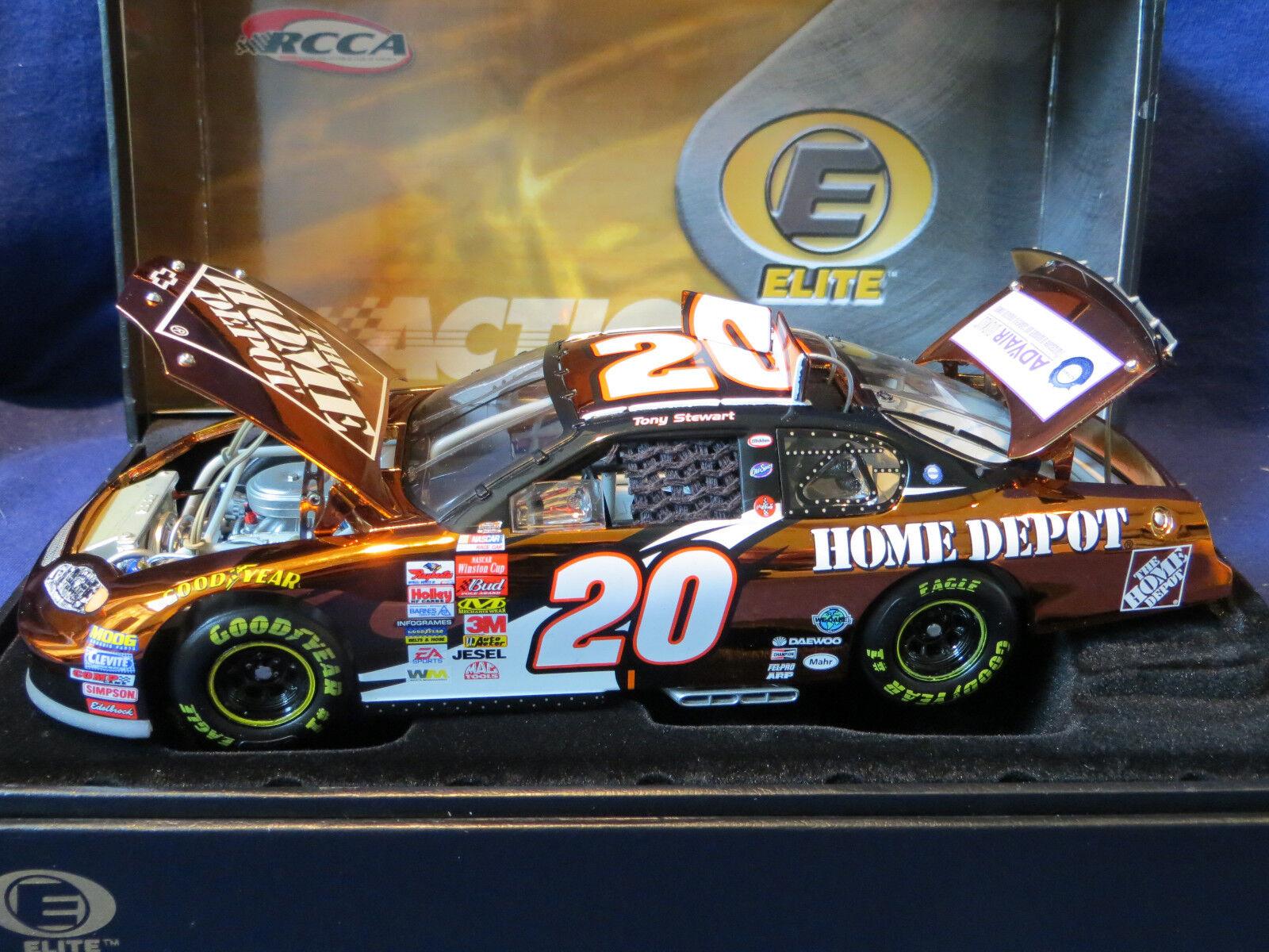 Tony Stewart Home Depot 2003 color color color Chrome Elite  1008 Action RCCA COOL  966b45